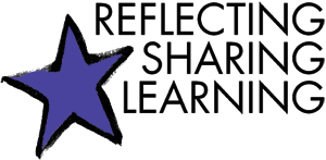 Reflecting, Sharing, Learning logo
