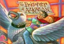 Harry Potter Prisoner of Azkaban book cover