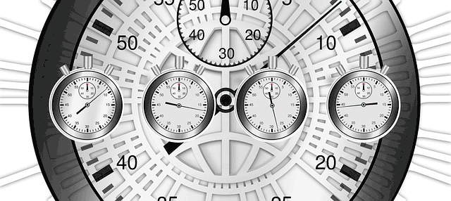 Image of stopwatches keeping time.