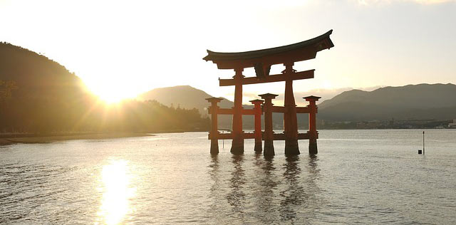 Picture of a torii