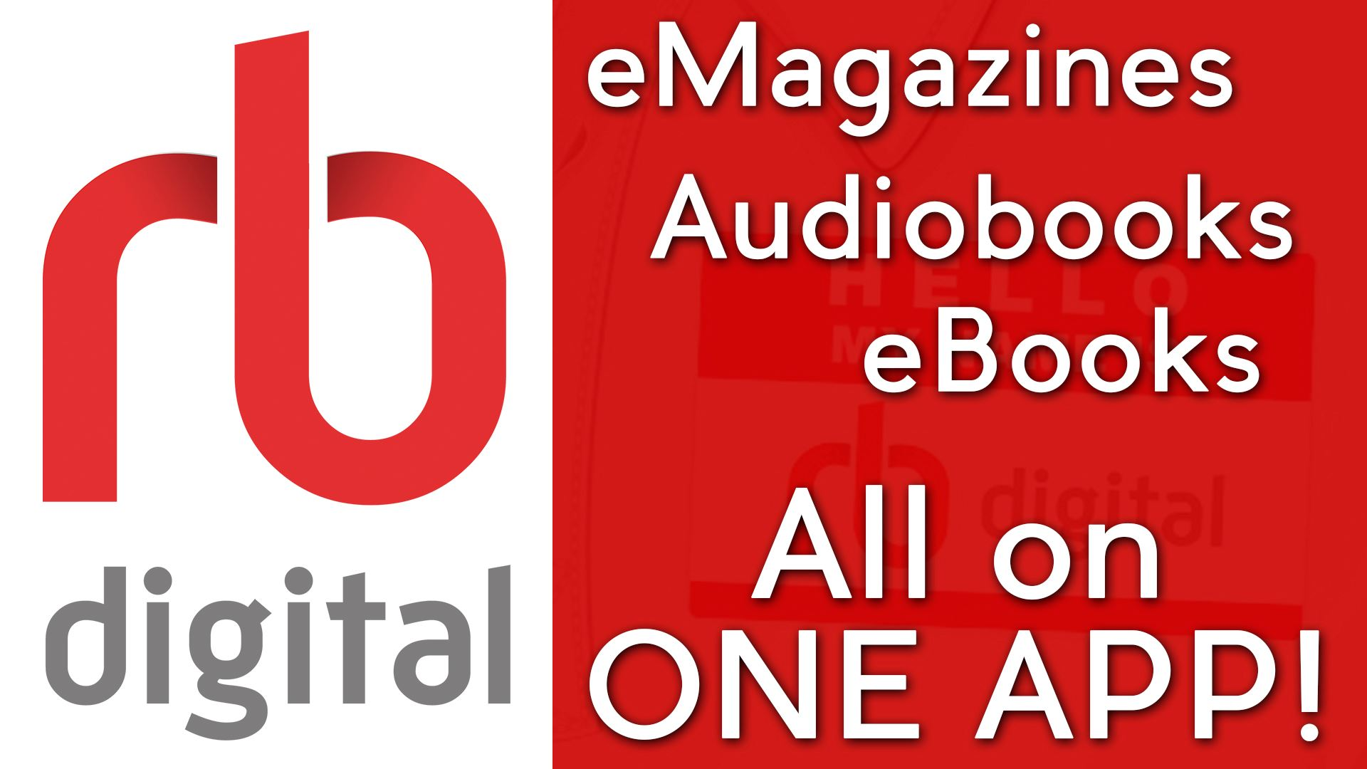 rb digital audiobooks, ebooks, emagazines