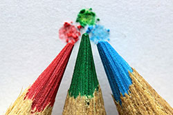image of colored pencils