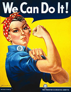 Image of Rosie the Riveter