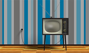 Image of a television