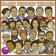 Image of a poster for black history month