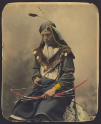 Old Picture of a Native American man
