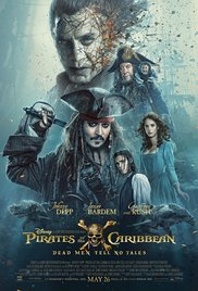Movie Poster for Pirates of the Caribbean: Dead Men tell no tales
