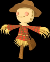 Image of a scarecrow