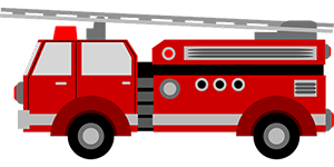 Image of a fire truck.