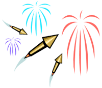 Image of fireworks.