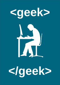 image of geek