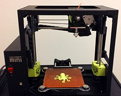 Photo of the Lulzbot 3D Printer.