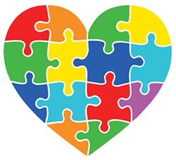 Image of a heart-shaped puzzle.