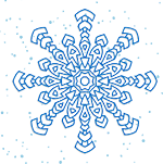 Image of a snowflake.