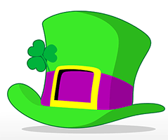 Image of a leprechaun's hat.