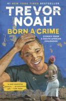 Trevor Noah Born a Crime cover