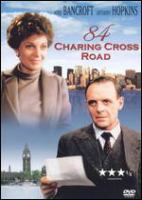 DVD cover of 84 charing cross road