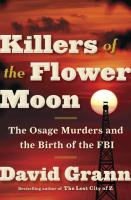 Book Cover of Killers of the Flower Moon