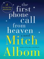 The first phone call from heaven book cover