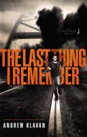 Book Cover of The Last Thing I Remember