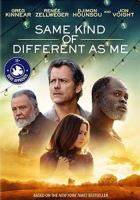 DVD cover of The Same Kind of Different as Me
