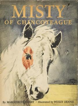 Misty of Chancoteague by Marguerite Henry