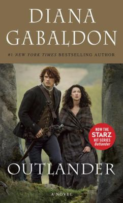 book cover of Outlander.