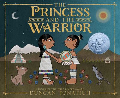 Book cover of the Princess and the Warrior.