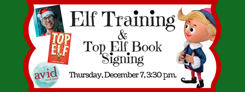 Elf Training and Top Elf Book Signing.
