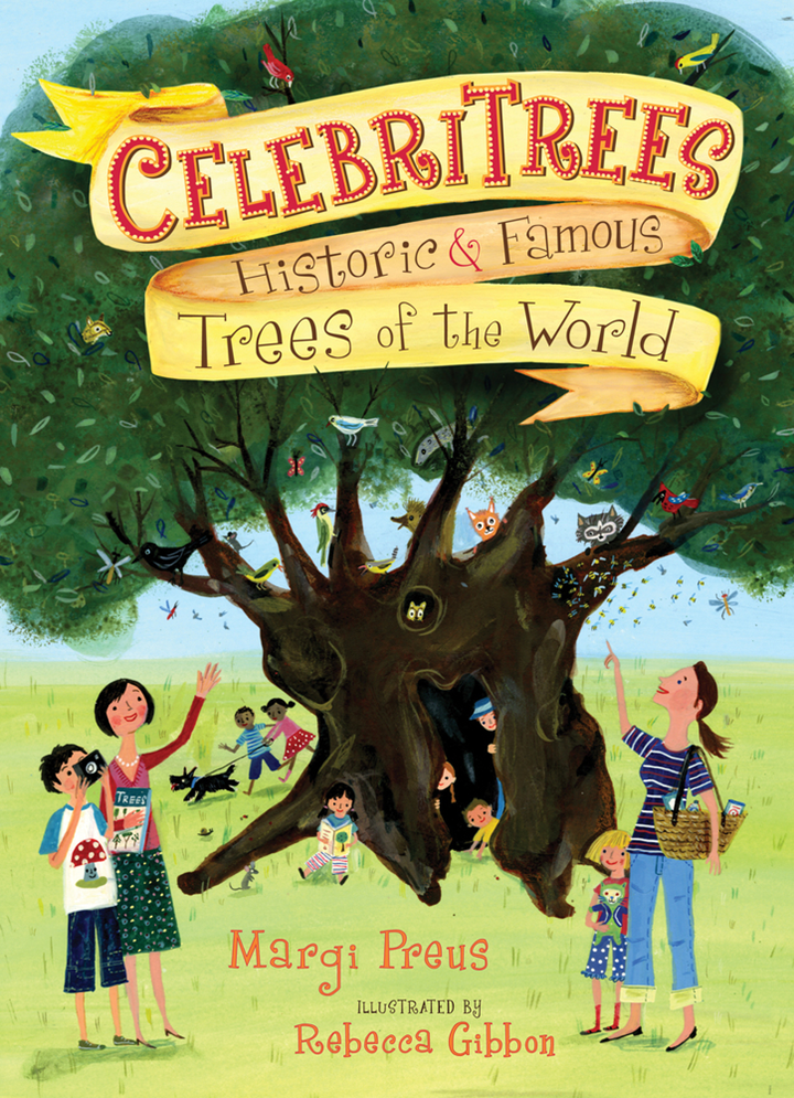 Image of the book Celebritrees.