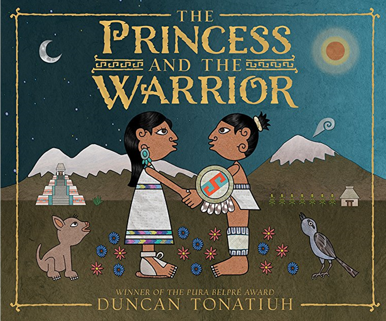 Image of the Princess and the Warrior book cover.