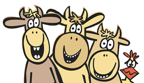 Image of a group of cows.