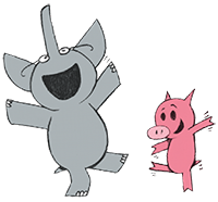 Image of Elephant and Piggie.