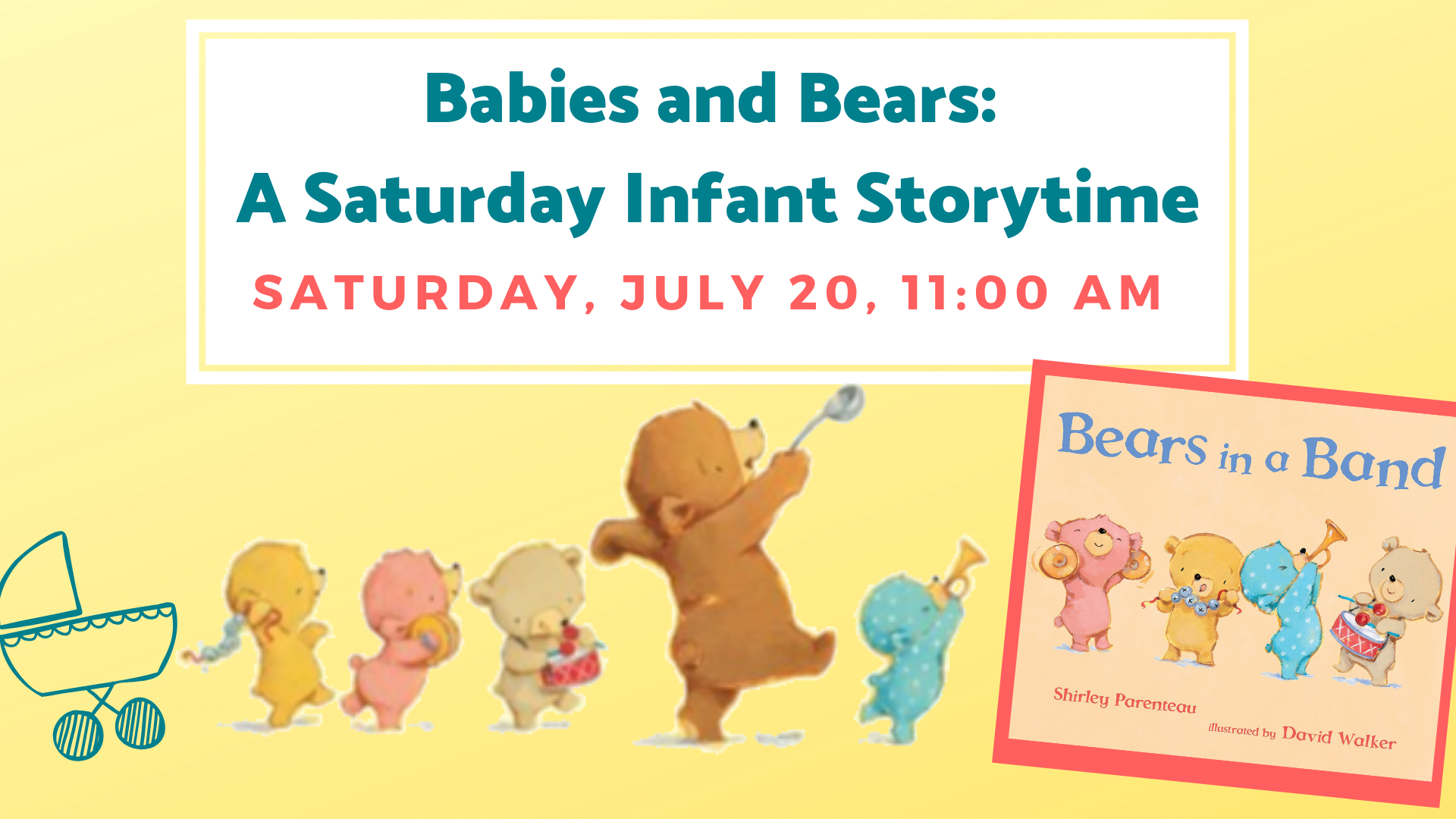 babies and bears storytime