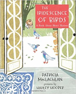 Book cover of The Iridescence of Birds.