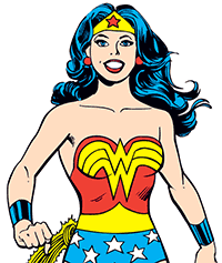 Image of Wonder Woman.