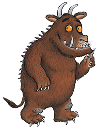Image of the Gruffalo.