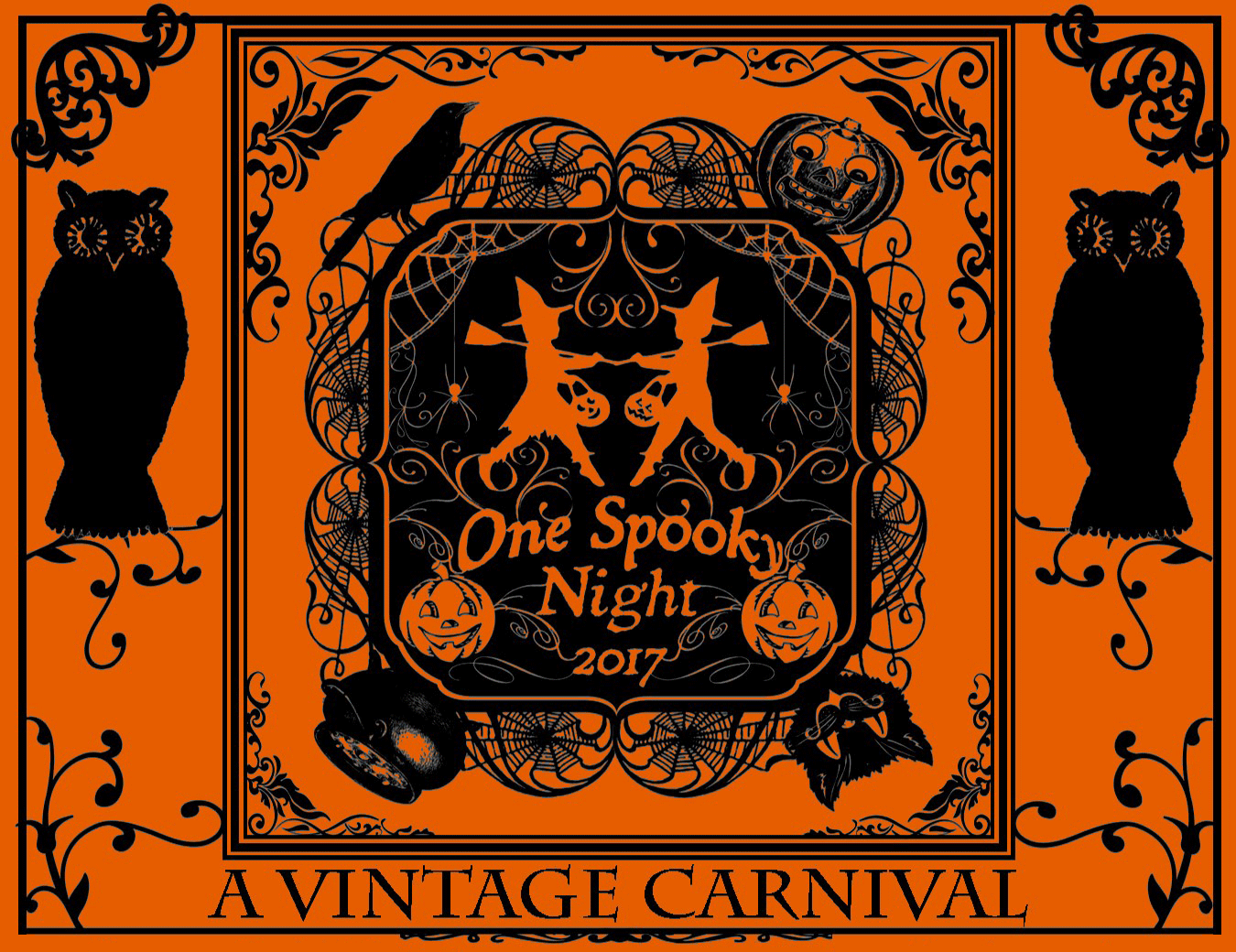 One Spooky Night - A Vintage Carnival