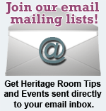 Join our email mailing lists