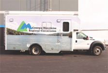 Photo of the Workforce Development Mobile Workshop.