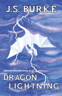 Book cover of Dragon Lightning.