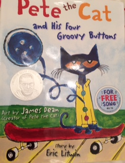 Pete the Cat Book Cover
