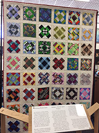 Photo of the Mother's Dream Quilt.