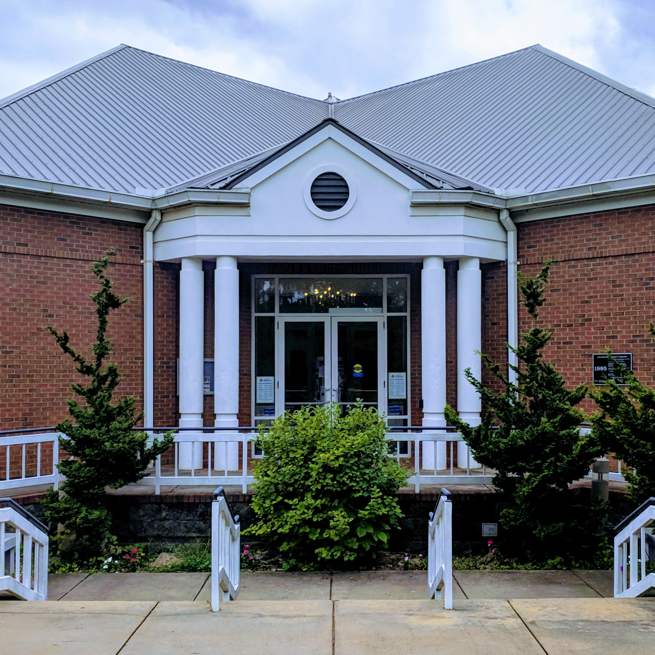 oglethorpe library front door