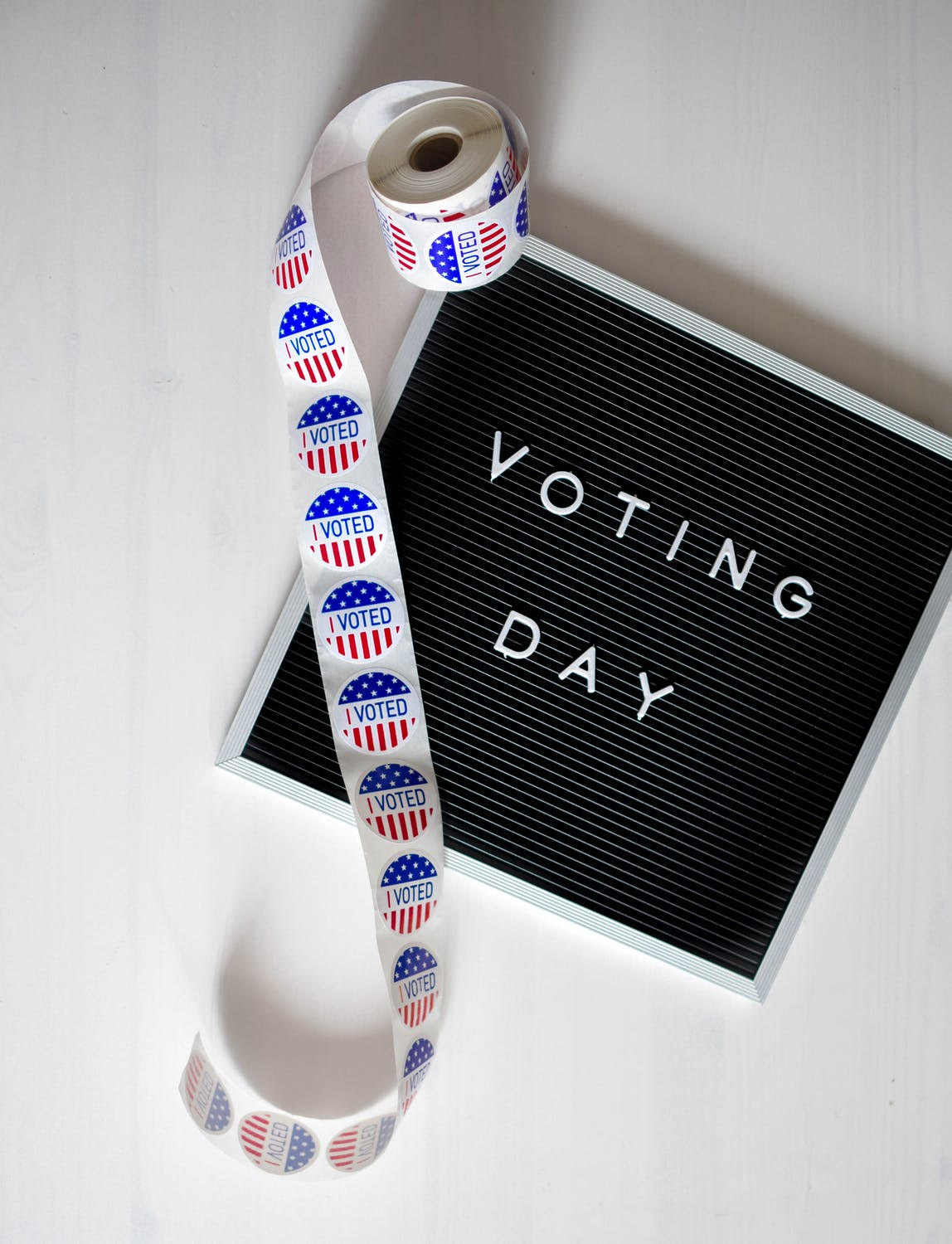 election day image - sign